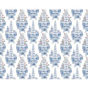 N4 0001MAST MASTERPIECES TULIP White Scalamandre Fabric