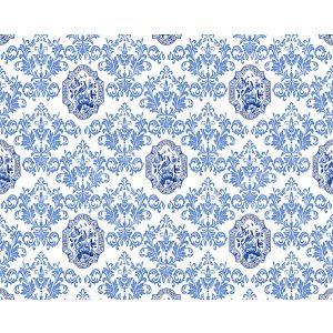 N4 0001PORC PORCELEYNE Blue Scalamandre Fabric