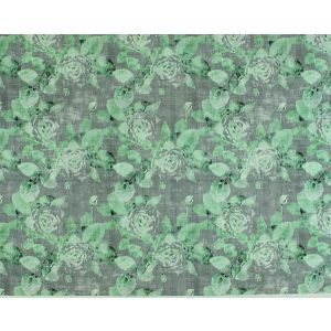N4 0003ROSE ROSE TRELLIS Charcoal Green Scalamandre Fabric