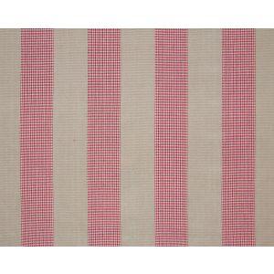 PQ 00021888 EBURY STRIPE FH Red Old World Weavers Fabric