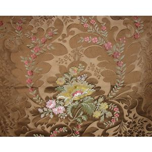 SB 00012473 RIMINI Cocoa Old World Weavers Fabric