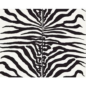 16366M-001 ZEBRA Black Scalamandre Fabric