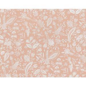 16605-001 TULIA LINEN PRINT Blush Scalamandre Fabric