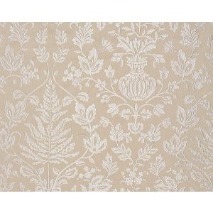 27032-001 SHALIMAR EMBROIDERY Sand Scalamandre Fabric