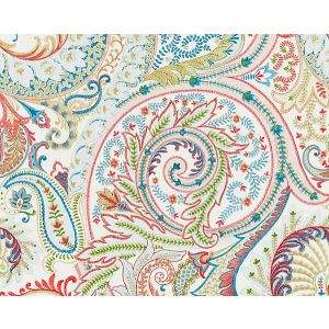 27124-001 MALABAR PAISLEY EMBROIDERY Bloom Scalamandre Fabric