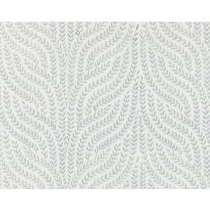 27125-001 WILLOW VINE EMBROIDERY Aquamarine Scalamandre Fabric