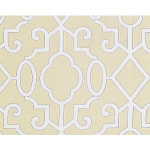 SC 0001WP88356 MING FRETWORK Alabaster Scalamandre Wallpaper