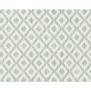 27098-002 MALAY IKAT WEAVE Aquamarine Scalamandre Fabric