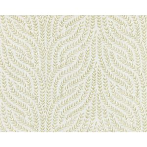 27125-002 WILLOW VINE EMBROIDERY Celery Scalamandre Fabric