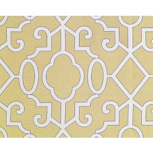 SC 0002WP88356 MING FRETWORK Champagne Scalamandre Wallpaper