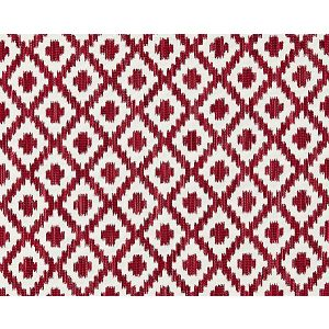 27098-003 MALAY IKAT WEAVE Raspberry Scalamandre Fabric