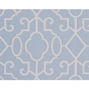 SC 0003WP88356 MING FRETWORK Cloud Scalamandre Wallpaper