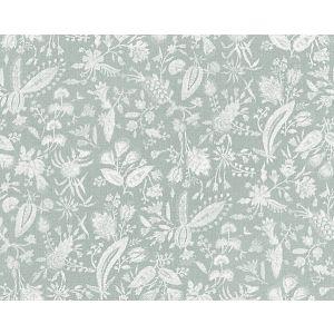 16605-004 TULIA LINEN PRINT Mineral Scalamandre Fabric
