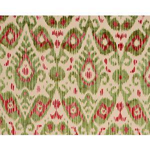 27015-004 TASHKENT VELVET Spring Green Scalamandre Fabric