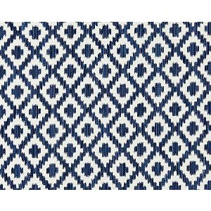 27098-004 MALAY IKAT WEAVE Indigo Scalamandre Fabric