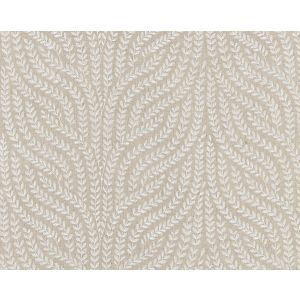 27125-004 WILLOW VINE EMBROIDERY Flax Scalamandre Fabric