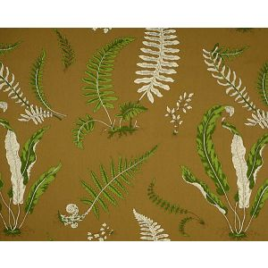 16425-005 ELSIE DE WOLFE Greens On Brown Scalamandre Fabric
