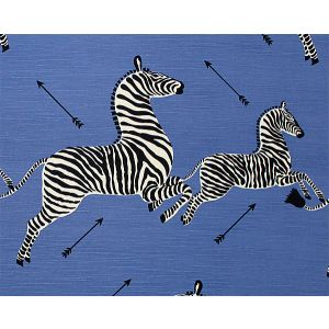 16496M-005 ZEBRAS SC Denim Scalamandre Fabric