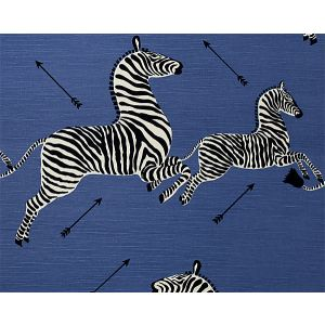 36378-005 ZEBRAS Denim Scalamandre Fabric