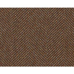 K65108-005 SAVILE HERRINGBONE Chestnut Scalamandre Fabric