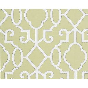 SC 0005WP88356 MING FRETWORK Pear Scalamandre Wallpaper