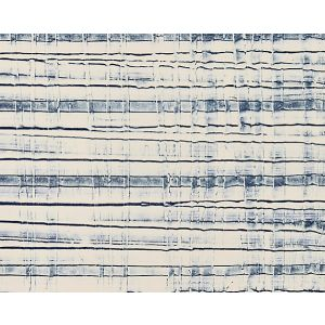 SC 0005WP88368 CROSSCURRENT Indigo Oyster Scalamandre Wallpaper