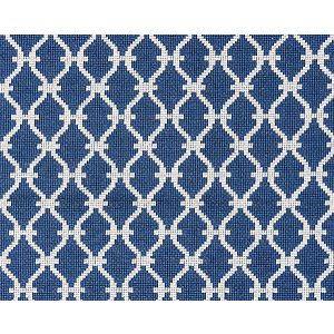 27009-007 TRELLIS WEAVE Denim Scalamandre Fabric