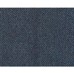 K65108-010 SAVILE HERRINGBONE Denim Scalamandre Fabric