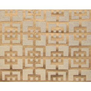 TF 429A7626 TIME SQUARED Camel Old World Weavers Fabric
