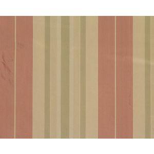 TT 00010016 DEANNA STRIPE Rose Green Old World Weavers Fabric