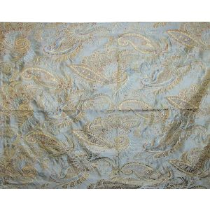 WC 0004G451 DOUGLAS FH Blue Cocoa Old World Weavers Fabric