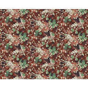 WH0 00043316 YOKATA Grenat Scalamandre Wallpaper