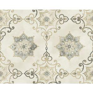 WMA MF000813 ISOLDE Silver Scalamandre Wallpaper