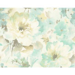 WMA MF040815 JULIET Turquoise Scalamandre Wallpaper