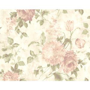WMA MF090506 SASHA Dusty Pink Scalamandre Wallpaper