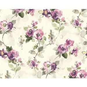 WMA MF090805 LOLITA Purple Scalamandre Wallpaper