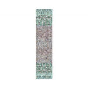 WNM 1022IZNI IZNIK OVERDYE Green Pink Scalamandre Wallpaper