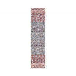 WNM 1037IZNI IZNIK OVERDYE Red Turquoise Scalamandre Wallpaper