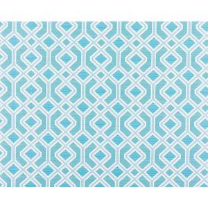WR 00022995 OAK BLUFF Turquoise Old World Weavers Fabric