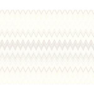 WRK 0060ZIGZ ZIG ZAGS Beige Missoni Home Wallpaper