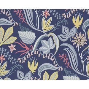 WSB 00860419 SARO Dark Blue Sandberg Wallpaper