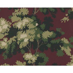 WSB 00940444 RAPHAEL Dark Red Green Lh Sandberg Wallpaper