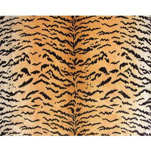 YS 00010691 TIGER Brwn Gold Scalamandre Fabric
