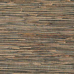 53-65619 Masami Grasscloth Grey Brewster Wallpaper