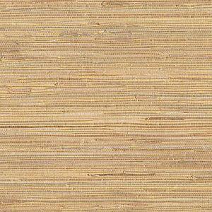 53-65622 Mayu Grasscloth Taupe Brewster Wallpaper