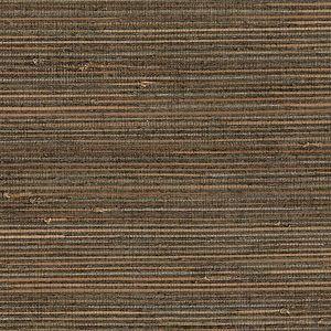 53-65663 Satomi Grasscloth Sage Brewster Wallpaper