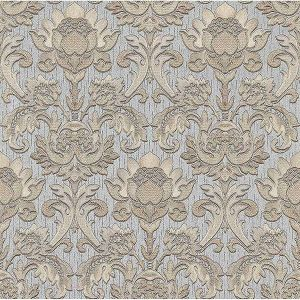 Z1739 Dis Scudo Damask Silver Brewster Wallpaper