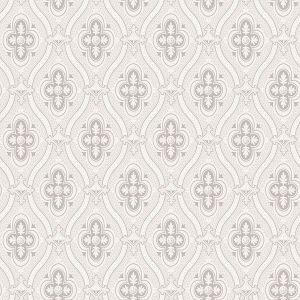 2827-4526 Pigkammaren Ogee Light Grey Brewster Wallpaper