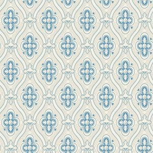 2827-4527 Pigkammaren Ogee Blue Brewster Wallpaper