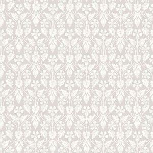 2827-4537 Nora Ogee Light Grey Brewster Wallpaper